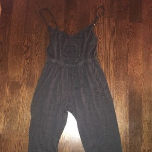 URBAN OUTFITTERS GREEN JUMPSUIT WITH CUT OUT